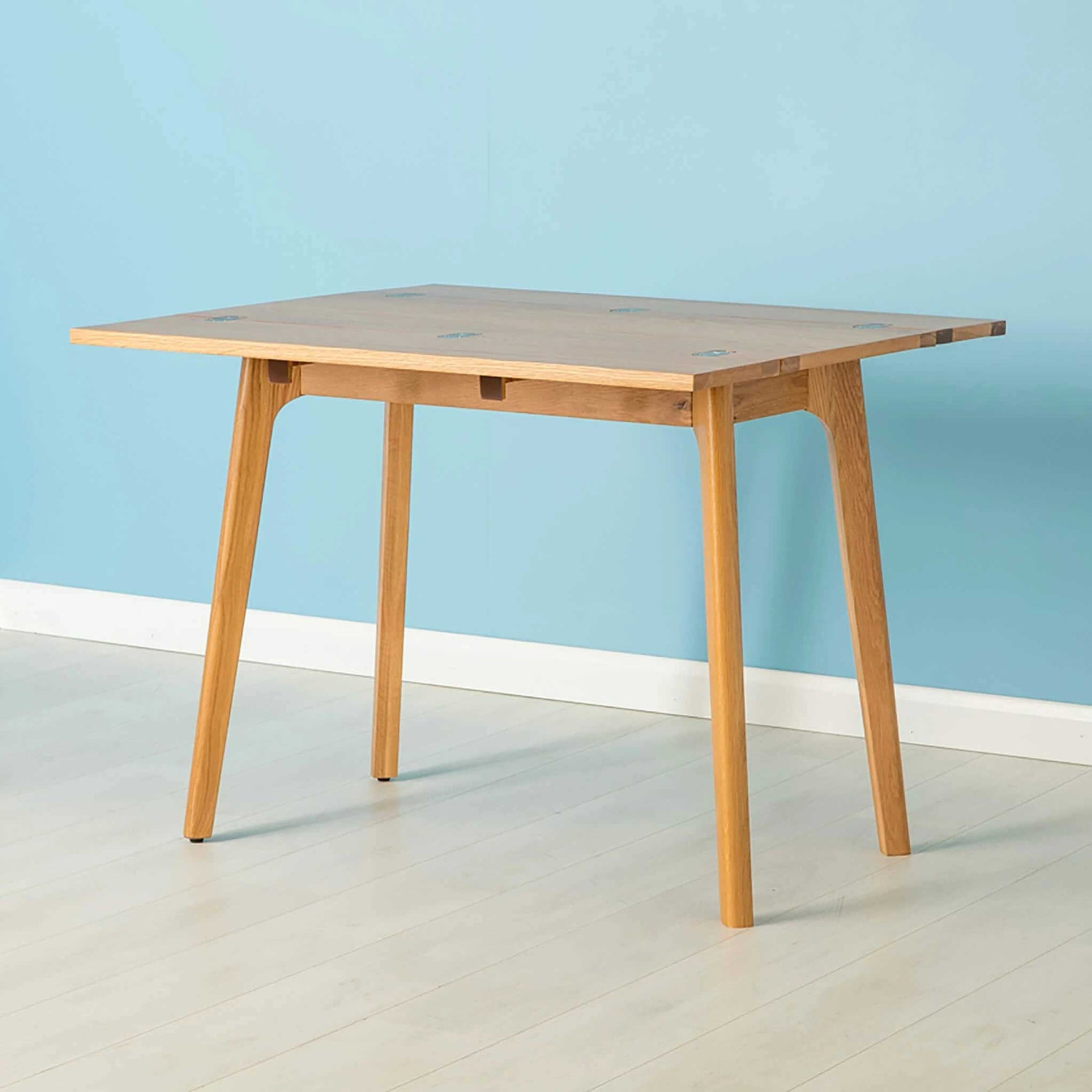 Nordic Oak Folding Table by Roseland Furniture