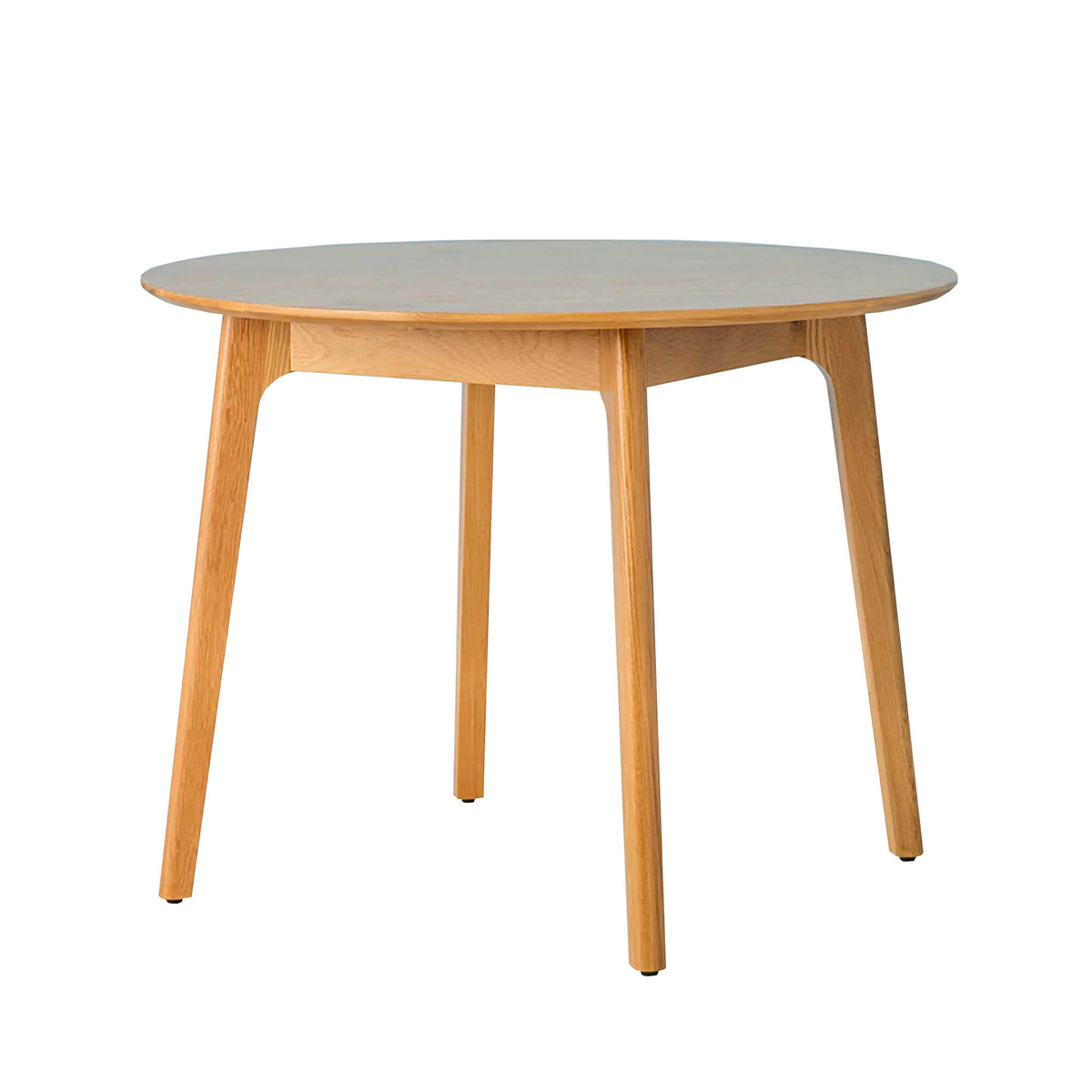 Nordic Oak Round Table Dining Set - Table