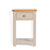 The Padstow Grey Small Hallway Telephone Table with 1 Drawer from Roseland Furniture
