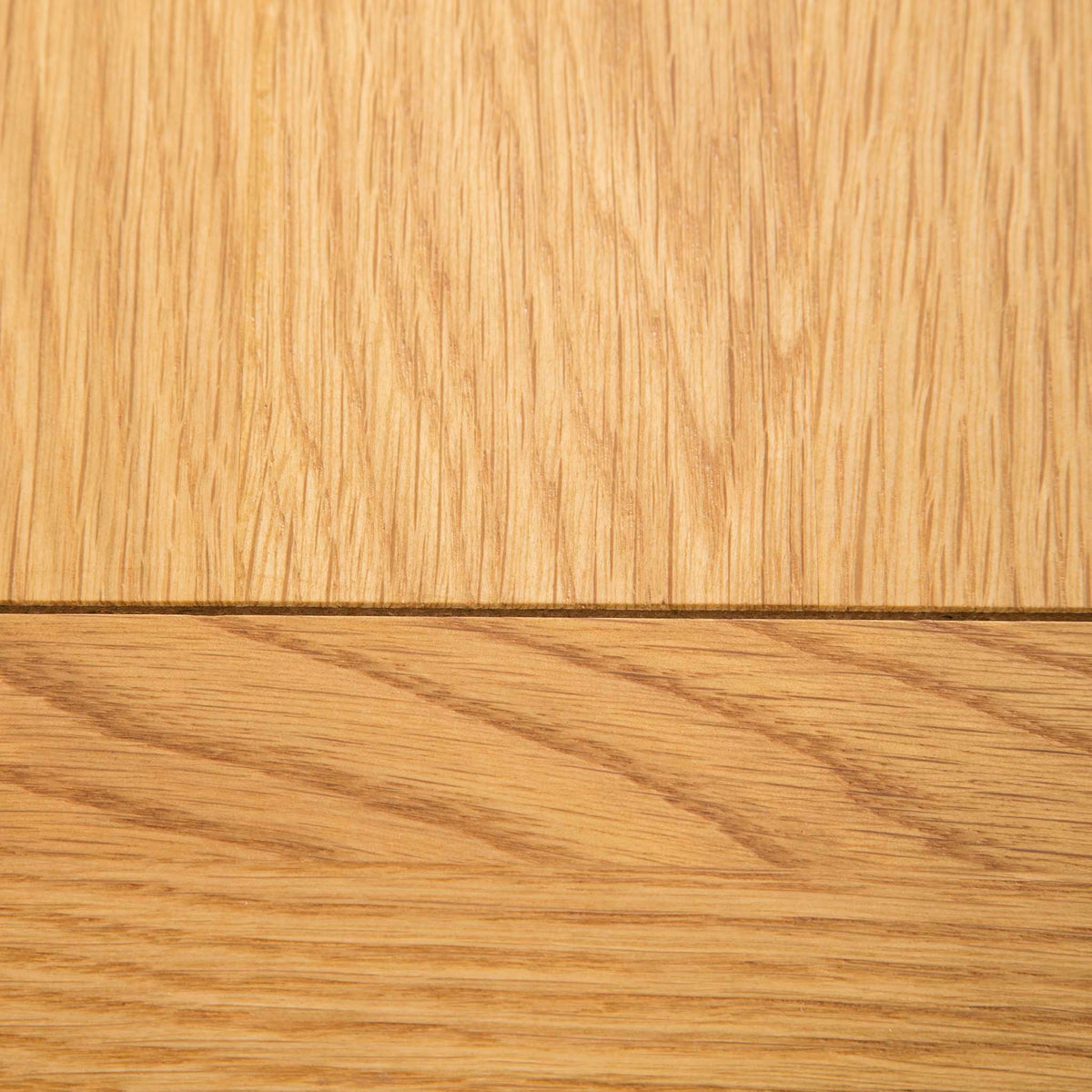 The Padstow Stone Grey Small Hallway Telephone Table - Close up of Oak Top
