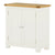 The Padstow White 2 Door Cupboard Cabinet