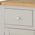 The Padstow Grey Small Sideboard - Close Up of Drawer