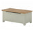 The Padstow Grey Wooden Blanket Box from Roseland Furniture