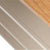 The Padstow Stone Grey Small Low Bookcase - Close up of edge of shelves