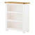 Padstow White Small Low Bookcase