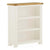 The Padstow White Small Wooden Bookcase with 3 Shelves