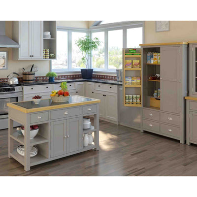 Decorative Kitchen image of the Padstow Grey Range from Roseland Furniture