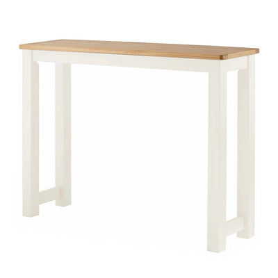 The Padstow White Wooden Breakfast Bar