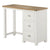 The Padstow White Small Wooden Dressing Table with Storage from Roseland Furniture