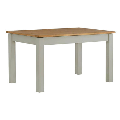The Padstow Grey 120cm Wooden Dining Table - Part of the Dining Set