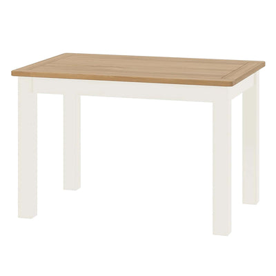 The Padstow White Wooden Dining Table