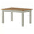 The Padstow Grey Wooden Extending Dining Table 140-180cm from Roseland Furniture