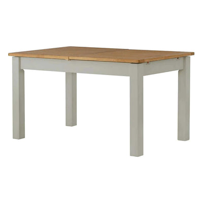 The Padstow Grey Wooden Extendable Dining Table - Part of the Dining Set