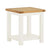The Padstow White Small Wooden Side Lamp Table