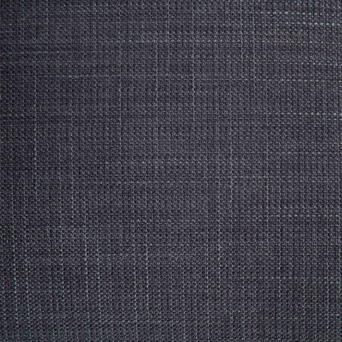 close up of black padded seat fabric