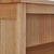 Falmouth Oak Bookcase Wooden Frame Close up