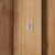 Falmouth Oak Large Display Cabinet close up of door lock