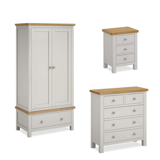Farrow Grey Bedroom Set - 2/3 Drawer Chest