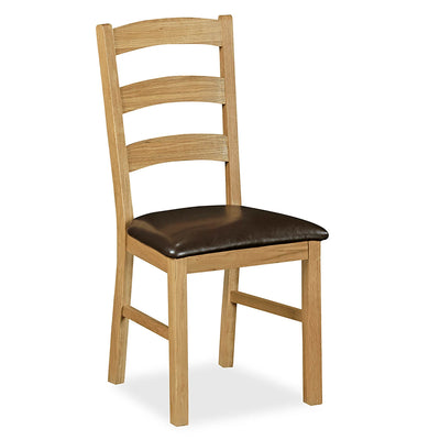 Lanner Oak Dining Chair by Roseland Furniture