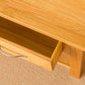 Closeup of drawer - Newlyn Oak Coffee Table