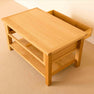 Drawer open - Newlyn Oak Coffee Table