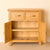 Newlyn Oak Mini Sideboard with doors open