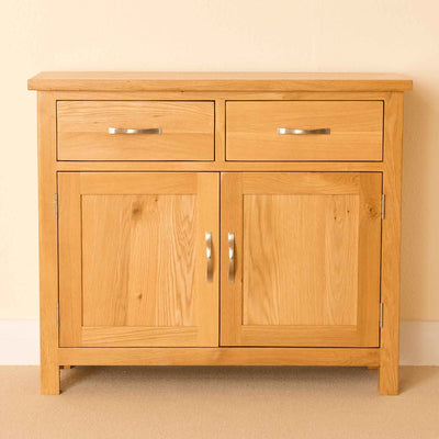 Newlyn Oak Small Sideboard by Roseland Furniture