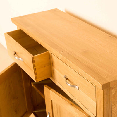 Newlyn Oak Small Sideboard