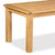 Zelah Oak 180cm Dining Table - Close Up of Top of Table