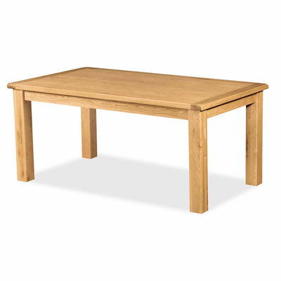 Zelah Oak 180cm Dining Table by Roseland Furniture