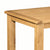 Zelah Oak 180cm Dining Table - Close Up