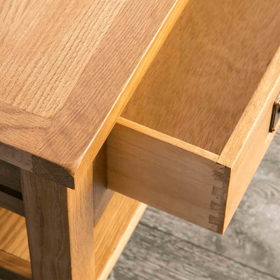 Drawer - Surrey Oak Coffee Table