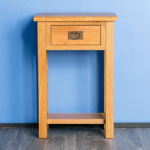 Surrey Oak Telephone Table by Roseland Furniture