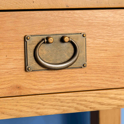 Drawer handle - Surrey Oak Telephone Table