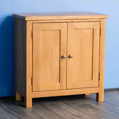 Surrey Oak Small Cupboard