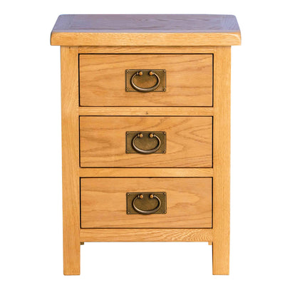 Surrey Oak Bedroom Set - 4 Drawer Chest