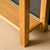 Legs of the London Oak Console Table by Roseland Furniture