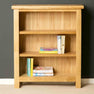 The London Oak Small Bookcase designed by Roseland Furniture