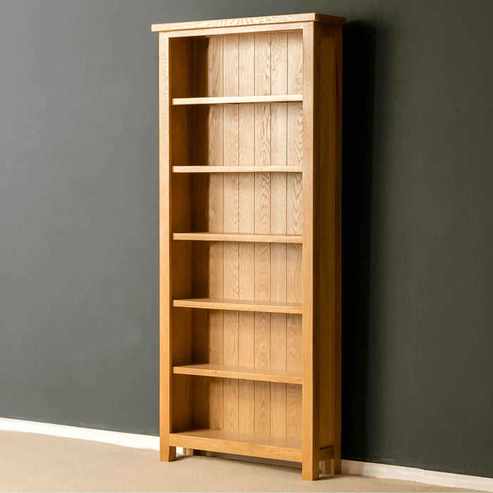Light Industrial Units For Sale West Sussex: London Oak Large Bookcase, H:180cm W:80cm, Solid Wood