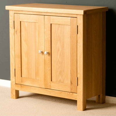 The London Oak Cupboard by Roseland Furniture