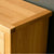 Close up of the top surface of a London Oak Small Sideboard.