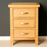 London Oak Bedroom Set - 2 over 4 Drawer Chest