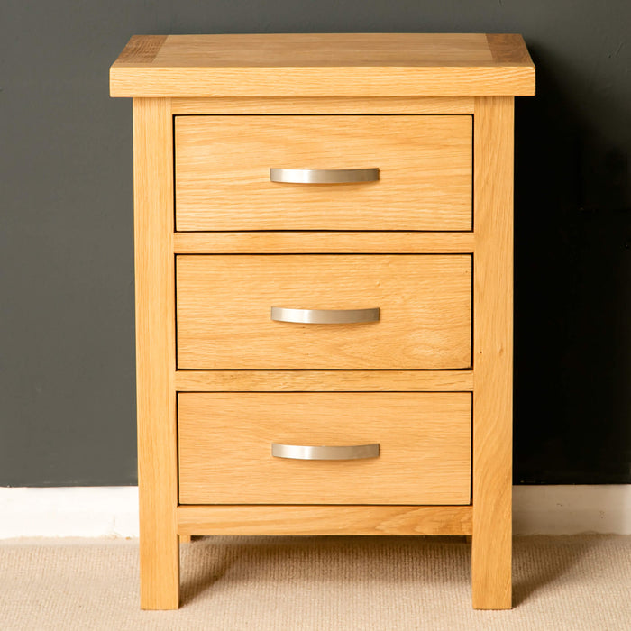 London Oak Bedroom Set -4 Drawer Chest