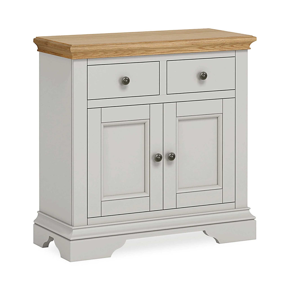 Normandy Grey Mini Sideboard by Roseland Furniture