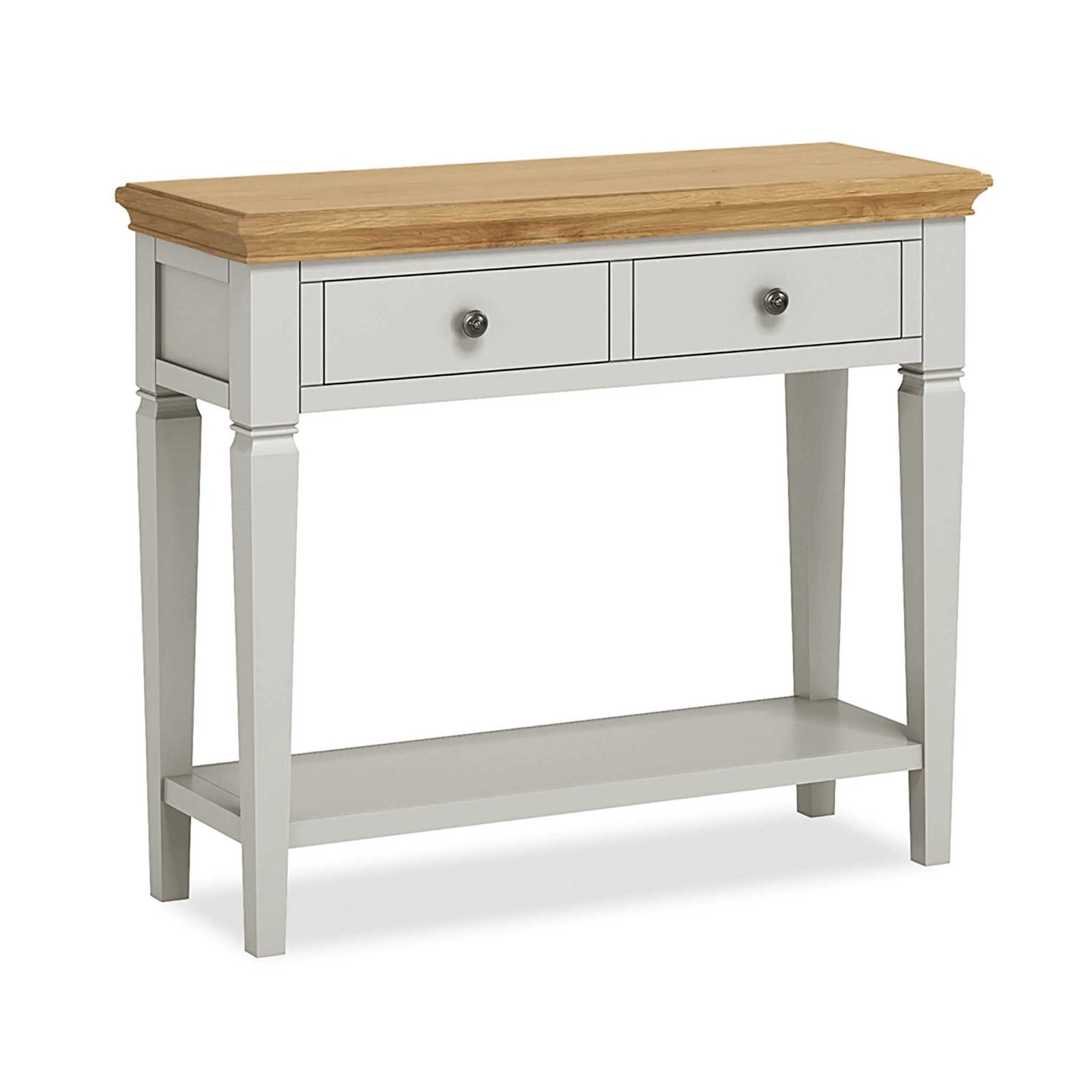 Normandy Grey Console Table by Roseland Furniture