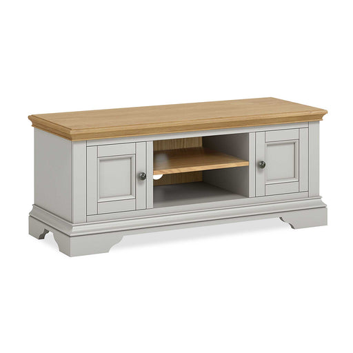 Normandy Grey 120cm TV Stand by Roseland Furniture