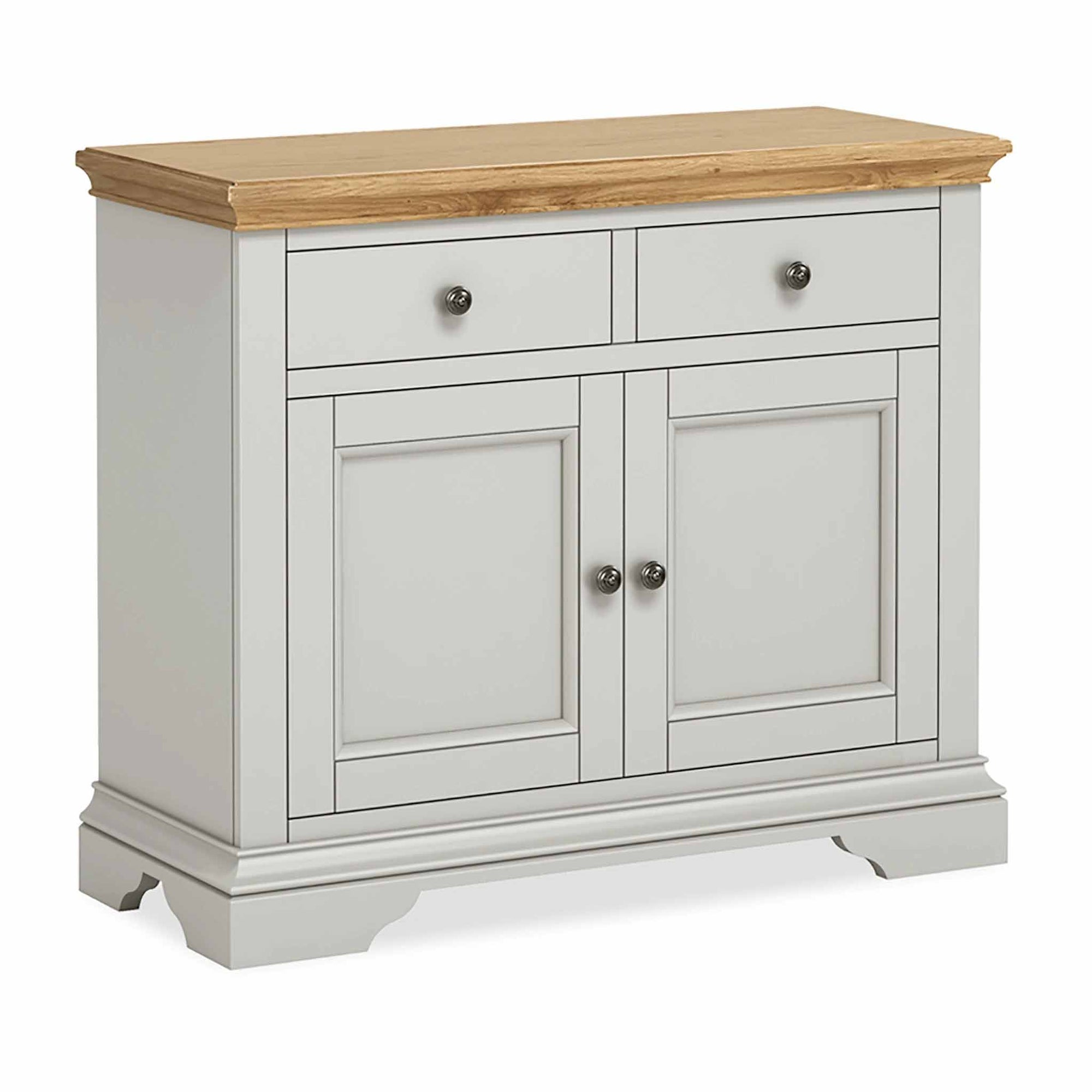 Normandy Grey Small Sideboard by Roseland Furniture