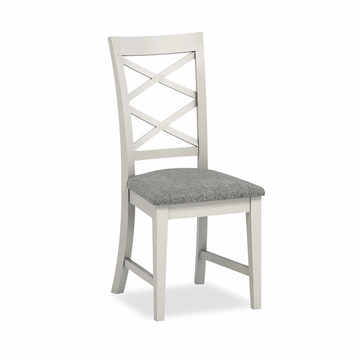 Normandy Grey Dining Chair by Roseland Furniture