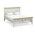 Normandy Grey 5' Bed Frame by Roseland Furniture