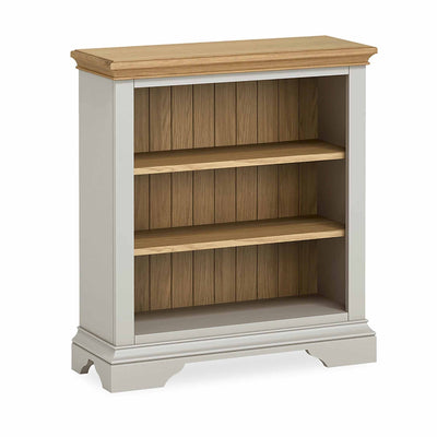 Normandy Grey Low Bookcase by Roseland Furniture